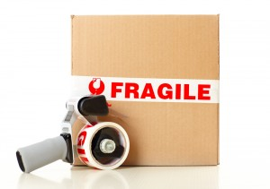 Bury removal vans packing fragile items